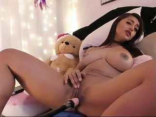 indian lady with fucking machine
