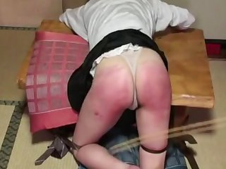 harsh wedgie caning