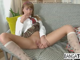 cute school girl needs some tutoring in anal sex