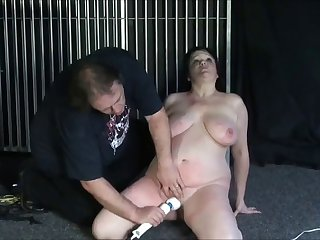 Tits BDSM treatment for a BBW mature milf